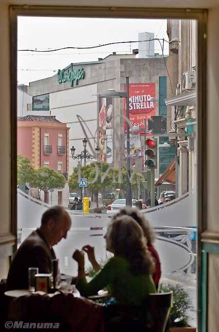 Cafetería con vistas