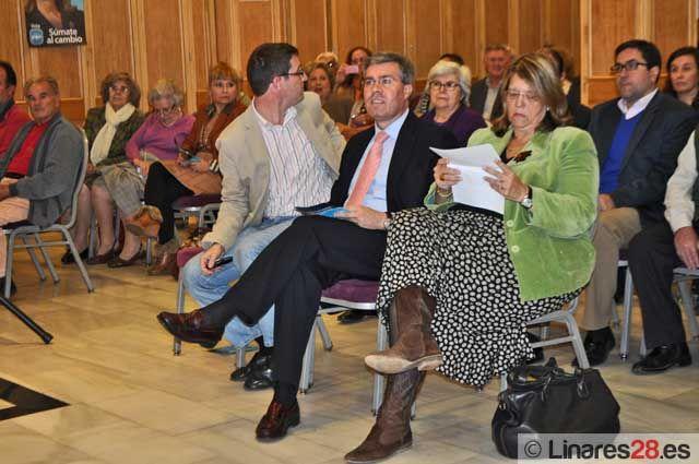 Acto público del Partido Popular en Linares