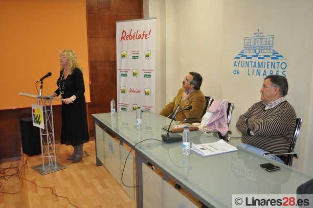Izquierda Unida cierra sus actos centrales de campaña electoral en Linares