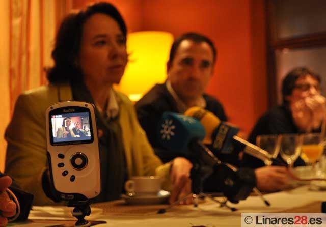 El PSOE cierra su campaña electoral en Linares