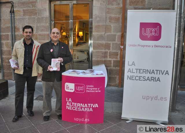 UPyD cierra su campaña electoral en Linares