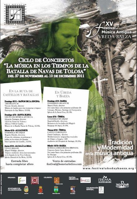 El Festival de Música Antigua dedica un ciclo al VIII Centenario de la Batalla de las Navas de Tolosa