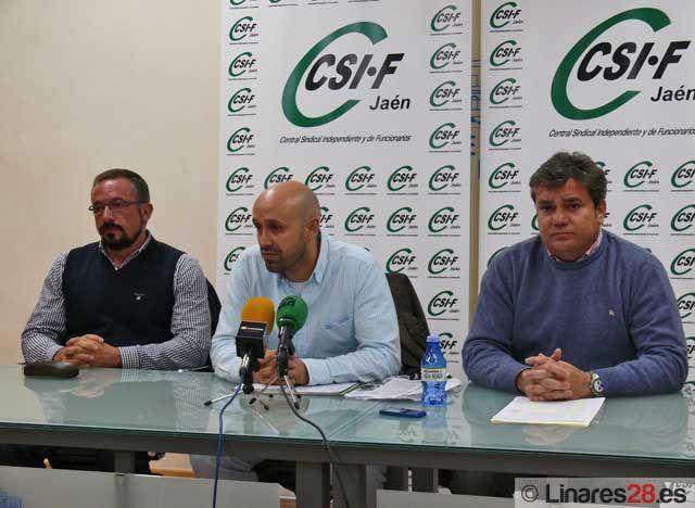CSIF Jaén pide la dimisión del Concejal de Seguridad Ciudadana por la situación de los Bomberos de Linares