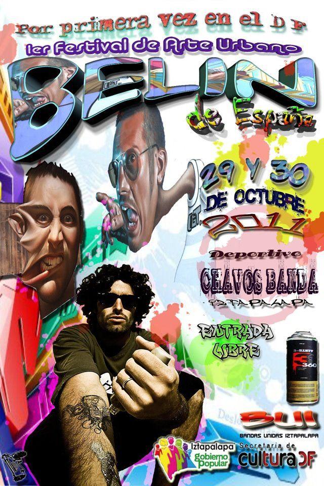 Belin estampa su firma en México D.F.