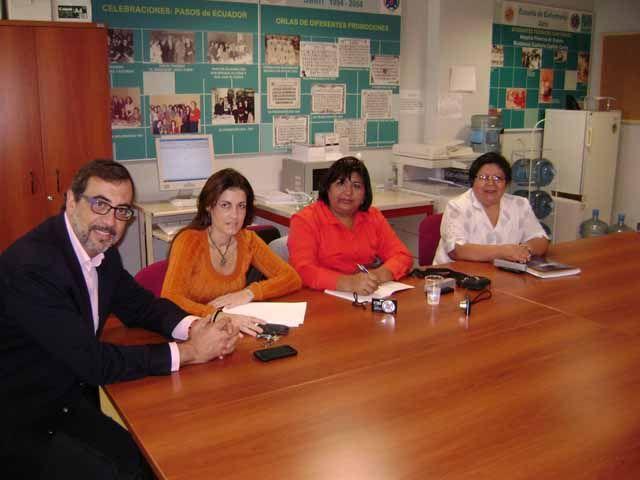 Profesorado boliviano visita la UJA en el marco de un proyecto internacional para la formación de postgrado en Enfermería