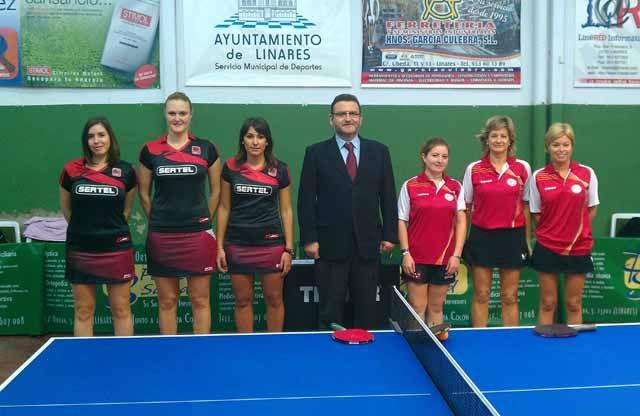 Resultados del fin de semana del Club Tenis de Mesa Linares