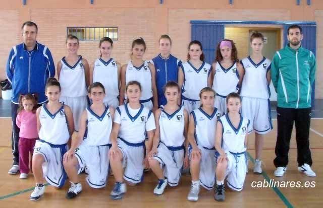 Primer partido de preparación de las selecciones provinciales minis de baloncesto