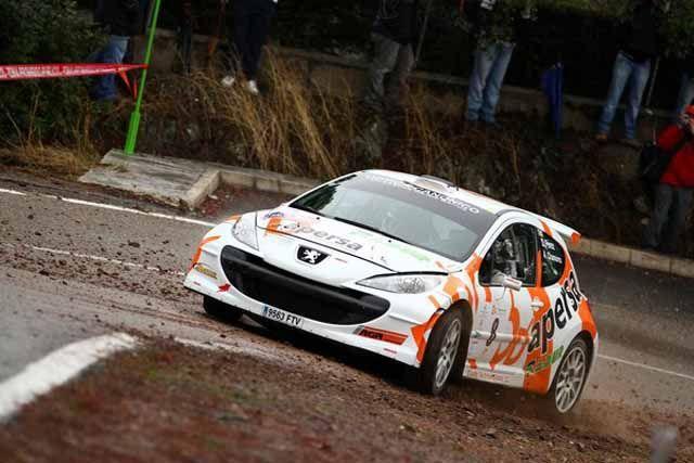 Gran actuación del linarense Alberto Chamorro en el 29º Rallye Sierra Morena
