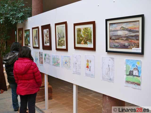 Exposición de acuarela en el Museo Andrés Segovia de Linares