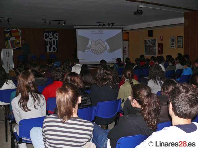 Ciclo de conferencias de temática variada en el IES Cástulo