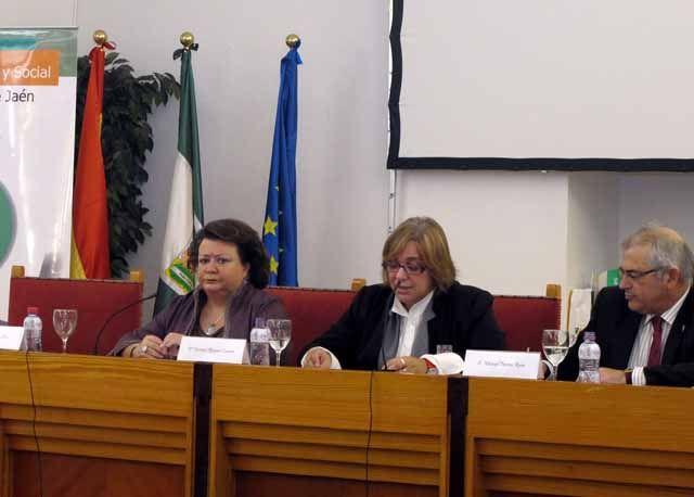 Pilar Parra aboga por aprovechar las potencialidades de Jaén en energías renovables, turismo u olivar