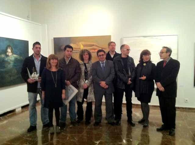 """La Diputación de Jaén entrega los premios del XXV Certamen de Pintura """"Emilio Ollero"""" 2011"""