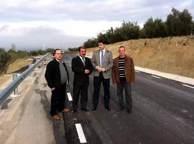 Mejoras en la carretera de Linares-Baeza a Lupión