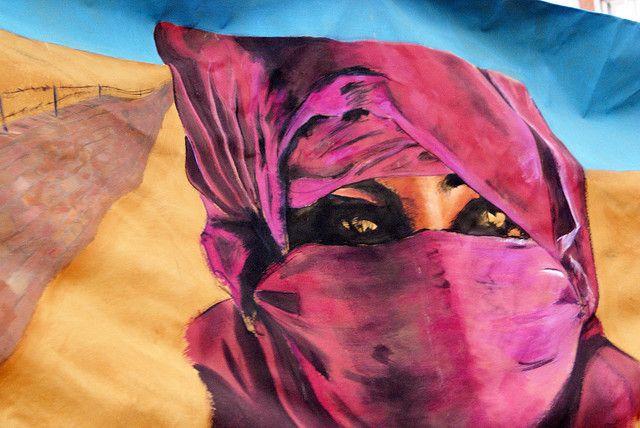 Artistas de Linares solidarios con el Sáhara