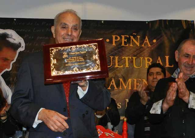Exitoso Homenaje a Gasparín en El Pósito de Linares