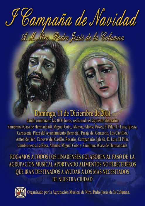 """""""I Campaña de Navidad"""" de la Agrupación Musical Ntro. Padre Jesús de la Columna"""