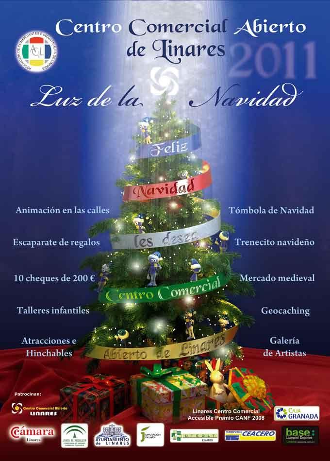 """Actividades del """"Centro Comercial Abierto"""" de Linares en su campaña de Navidad"""