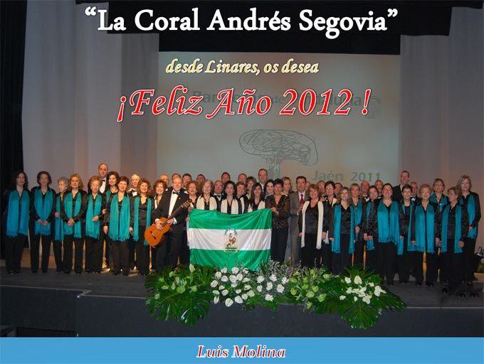 Felicitación de la Coral Andrés Segovia