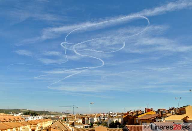 Piruetas sobre el cielo de Linares