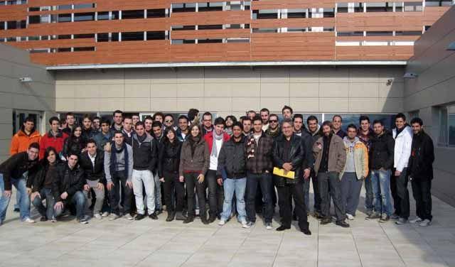 Casi un centenar de alumnos de Ingeniería Técnica Superior del Campus de Linares conocen las instalaciones de Geolit