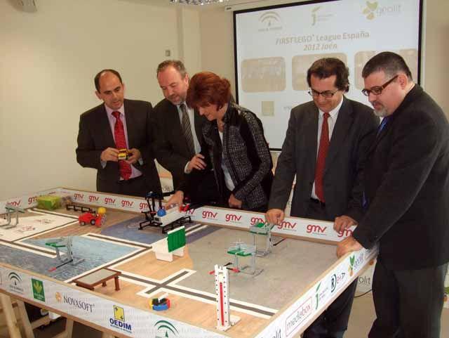 Geolit organiza por tercera vez la fase provincial de la First Lego League en Jaén