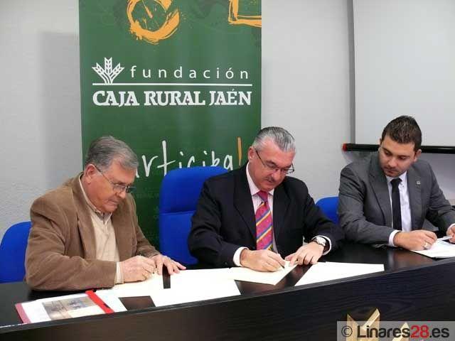 Convenio de colaboración entre Fundación Caja Rural y CB Linares