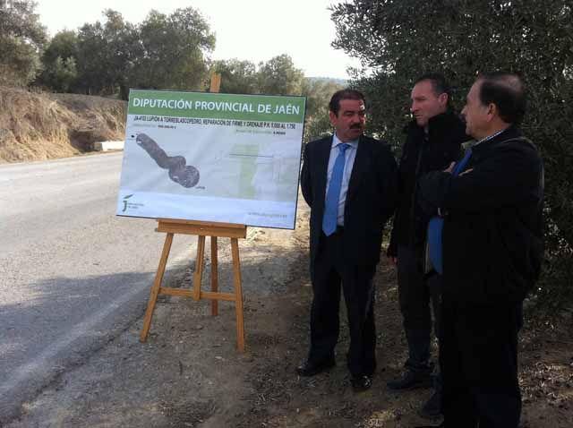José Castro presenta tres obras en carreteras de La Loma donde se invertirán más de 1,8 millones de euros de inversión