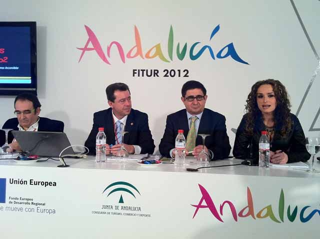 """Linares presenta en Fitur su estrategia Linares accesible 2012 """"Turismo para todas las personas"""""""