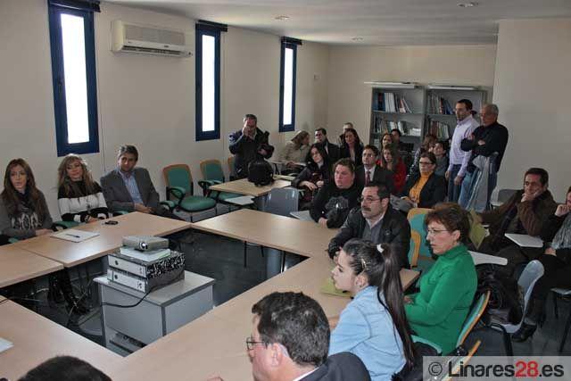 Jornada sobre financiación empresarial en el CADE Linares