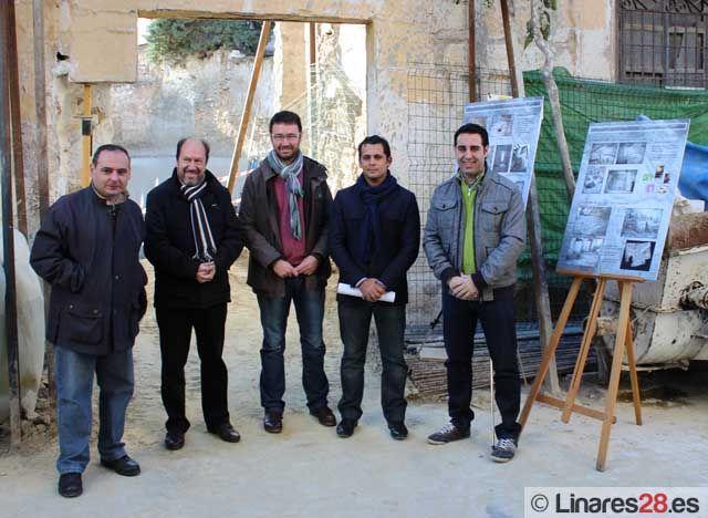Avanzan las obras de la nueva Casa de la Juventud de Linares