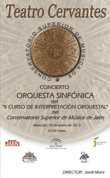 Concierto de orquesta en el Teatro Cervantes
