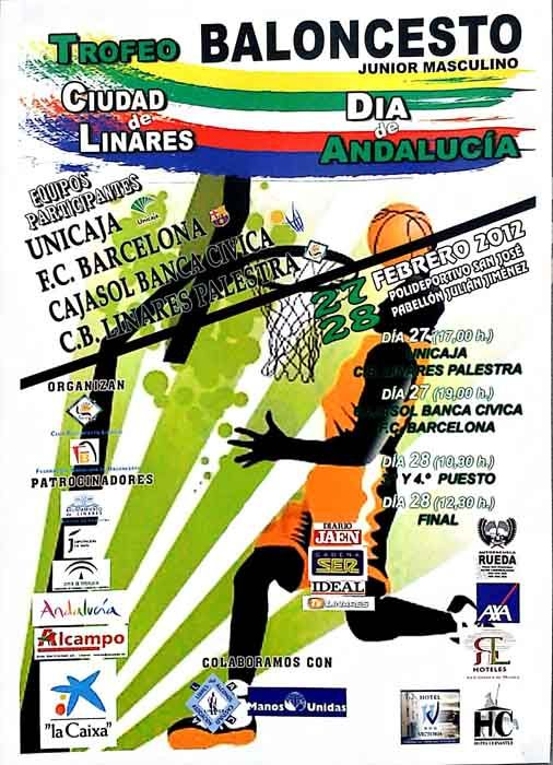 Se acerca el Trofeo Ciudad de Linares de Baloncesto