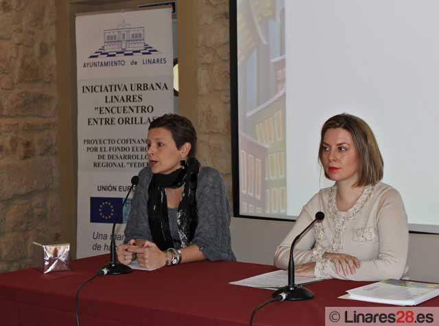 Entrega de diplomas del programa de empleo URBAN de Linares