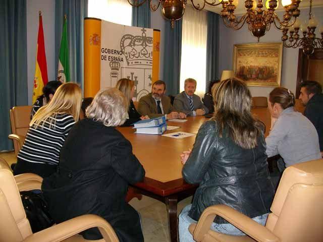 La Plataforma en defensa del Polvorín de Vadollano se reúne con el subdelegado del Gobierno