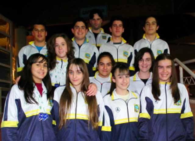 El Club de Natación Linares en el Campeonato de Andalucía