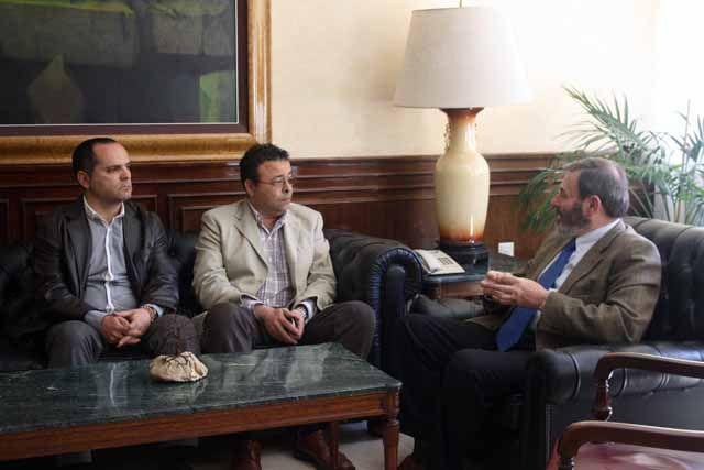 CSIF Jaén se reúne con el subdelegado del Gobierno, Juan Lillo, para trasladarle sus propuestas y preocupaciones