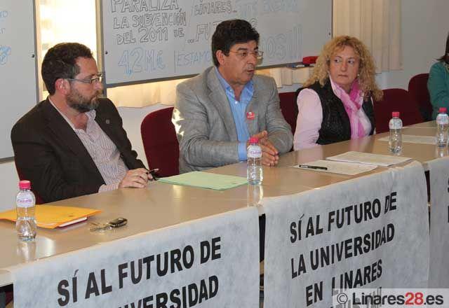 IU exige a la Junta la solución urgente y definitiva a los problemas de Santana y a la financiación del Campus de Linares