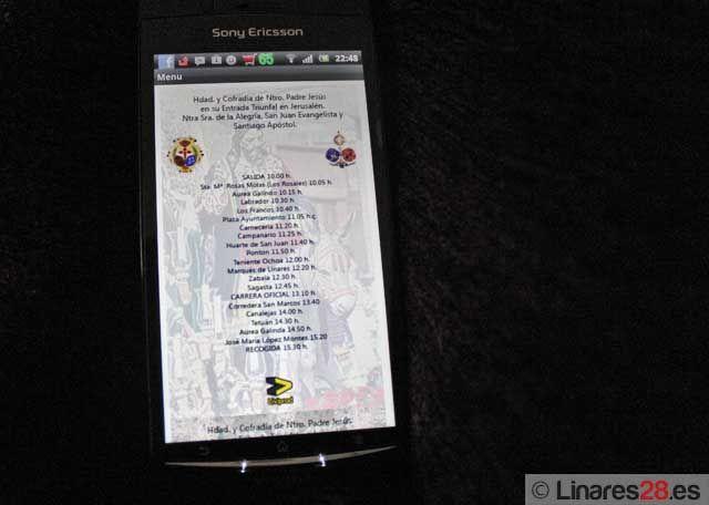 Presentan una aplicación para móviles sobre la Semana Santa linarense