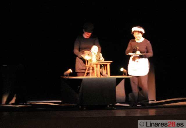 Teatro de títeres en el Cervantes
