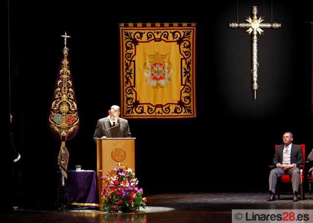 Jaime Poyatos emociona con su pregón de la Semana Santa 2012