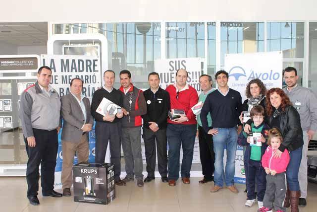 El Grupo Ávolo entrega a sus clientes los premios incluidos en su última campaña