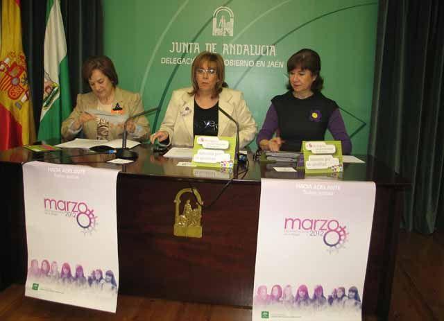"""La Junta presenta las actividades por el Día Internacional de la Mujer bajo el lema """"Hacia adelante. Todas juntas"""""""