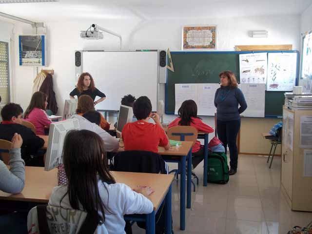 Mundo Solidario en los centros escolares de Linares