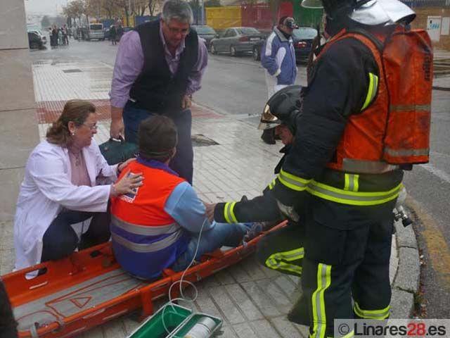 Bomberos de Linares darán cursos de prevención y actuación en casos de incendios a profesionales sanitarios