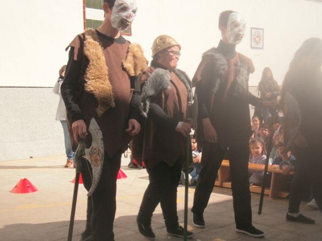 El taller de teatro del CEE Virgen de Linarejos en gira