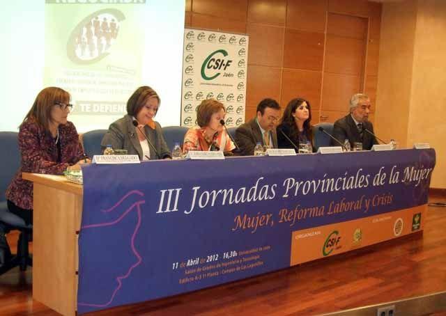 Más de un centenar de asistentes a las III Jornadas Provinciales de la Mujer