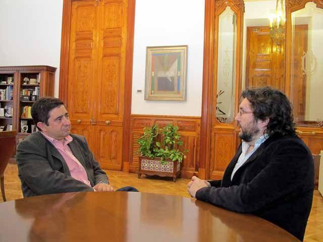 El gerente de Fundación Ángaro se reúne con el presidente de la Diputación Provincial de Jaén