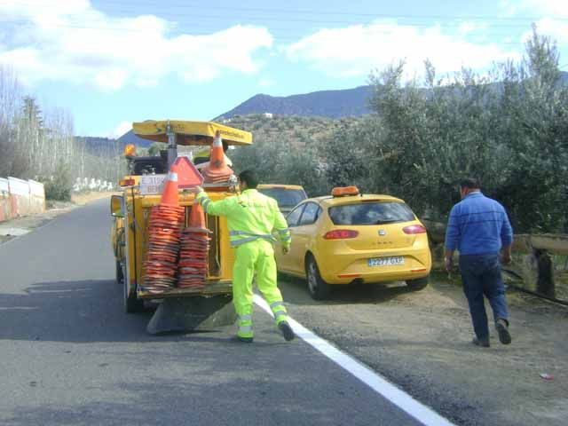 La Diputación mejora la señalización en 55 carreteras con una inversión superior a los 200.000 euros