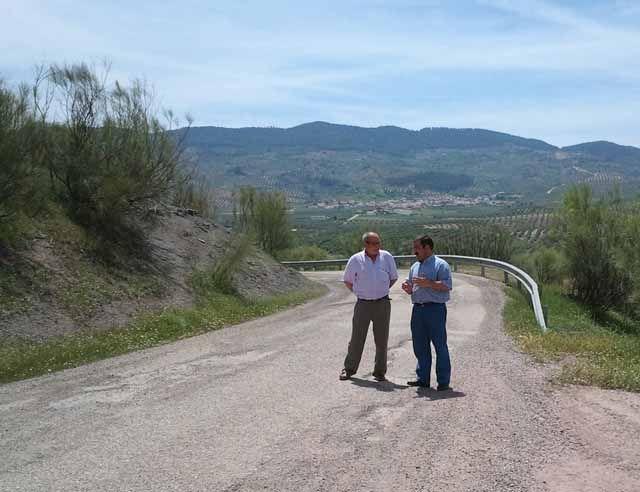 La Diputación acondicionará la carretera entre Chiclana y Venta los Santos y el acceso a Génave desde la N-322