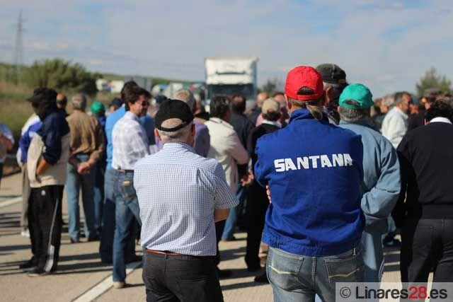 Los exsantaneros inician hoy una marcha hasta Jaén